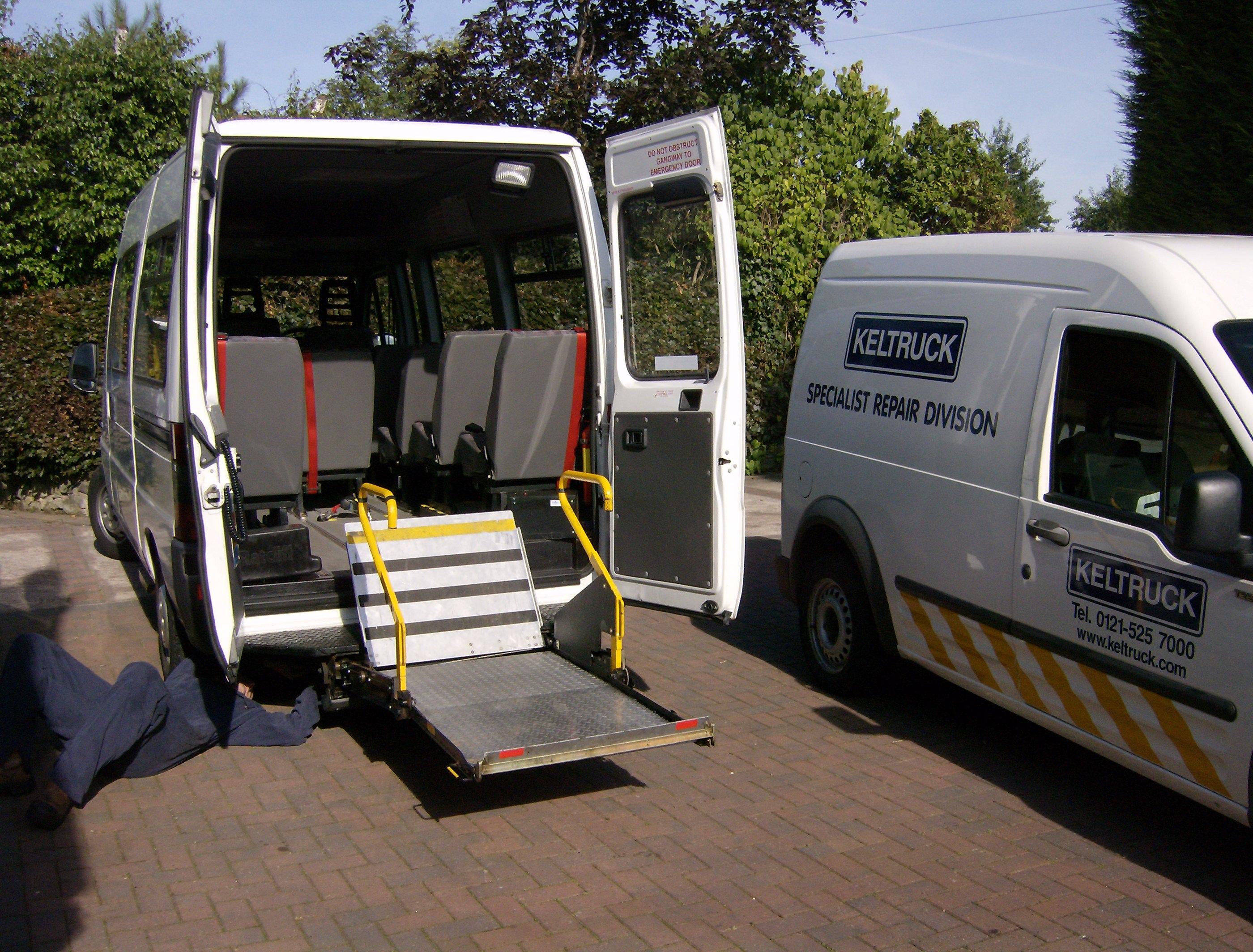Wheelchair Lifts – Keltruck Limited